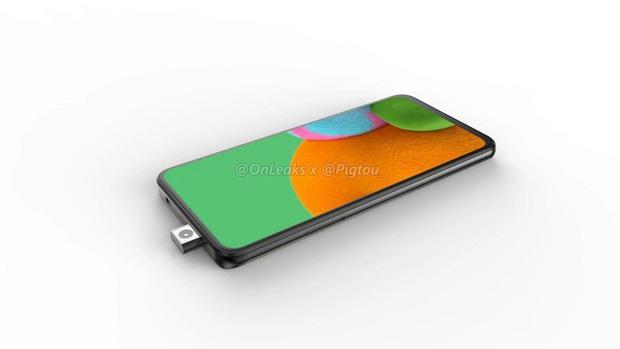 Lộ ảnh smartphone Samsung đầu tiên có camera pop-up - Ảnh 1.