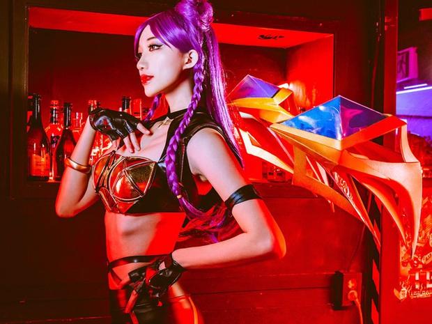 Rụng tim với bộ ảnh cosplay nhóm nhạc K/DA vòng nào ra vòng đấy của bộ tứ mỹ nhân xứ Hàn, hóa ra toàn streamer có tiếng - Ảnh 16.