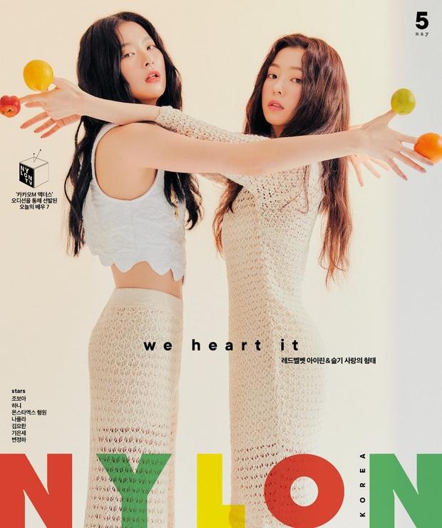 Irene và Seulgi (Red Velvet) cực tình tứ trong poster đậm mùi liêu trai, khoe góc nghiêng thần thánh nhưng fan chỉ thấy như quảng cáo... dầu gội? - Ảnh 6.