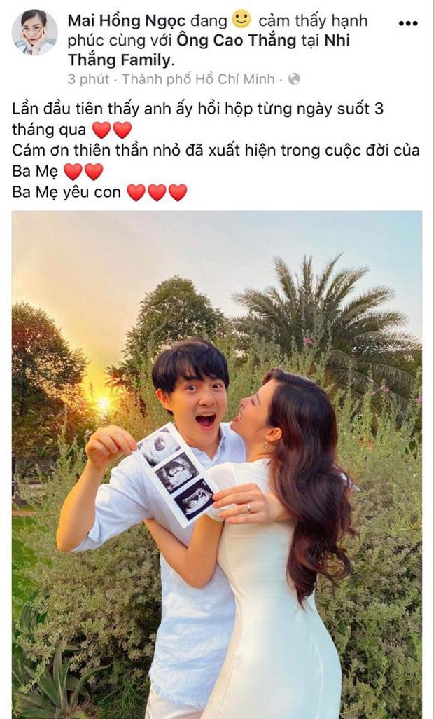 HOT: Đông Nhi chính thức xác nhận mang thai con đầu lòng sau 5 tháng kết hôn với Ông Cao Thắng - Ảnh 2.