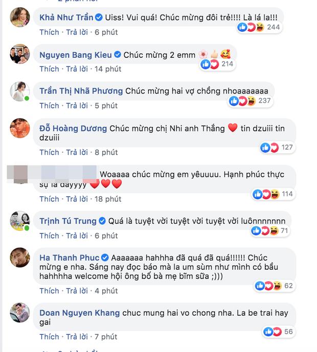 Cả dàn sao Việt rần rần chúc mừng khi Đông Nhi xác nhận mang thai con đầu lòng, Tóc Tiên bỗng thành tâm điểm - Ảnh 5.