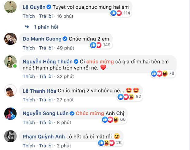 Cả dàn sao Việt rần rần chúc mừng khi Đông Nhi xác nhận mang thai con đầu lòng, Tóc Tiên bỗng thành tâm điểm - Ảnh 4.