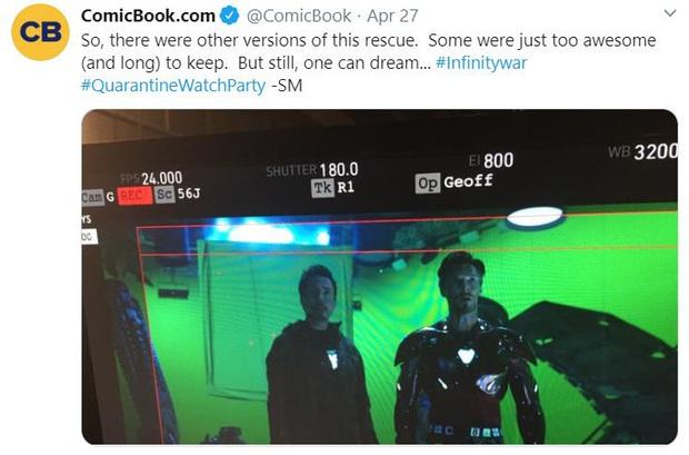 Netizen náo loạn trước những cảnh bị cắt ở Infinity War: Doctor Strange mặc đồ Iron Man hay hậu trường móc mắt gây sốc hơn? - Ảnh 3.