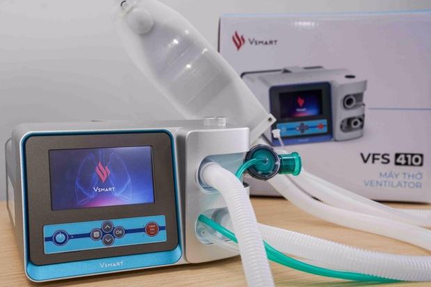 VinGroup hoàn thành hai mẫu máy thở phục vụ điều trị Covid-19 - Ảnh 1.