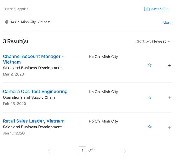 Apple tuyển dụng hàng loạt vị trí làm việc ở Việt Nam, phải chăng sắp có Apple Store hay nhà máy mới? - Ảnh 2.