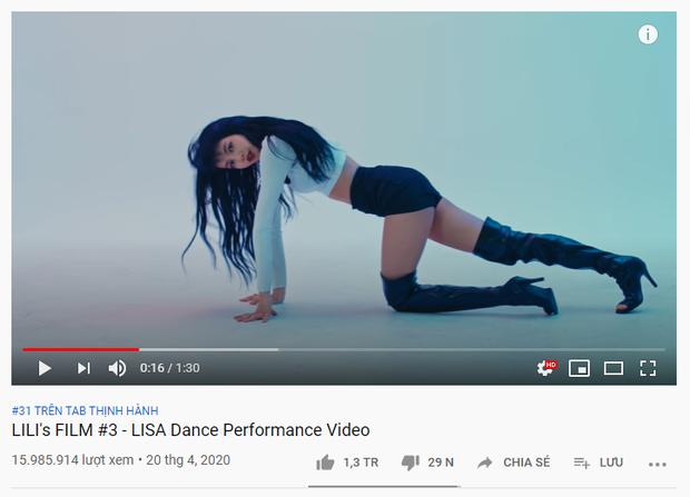 Đẳng cấp của Lisa (BLACKPINK) là đây: điệu nhảy siêu sexy đưa ca khúc Mushroom Chocolate lên top viral tại Việt Nam, thậm chí vượt luôn cả Jack? - Ảnh 4.