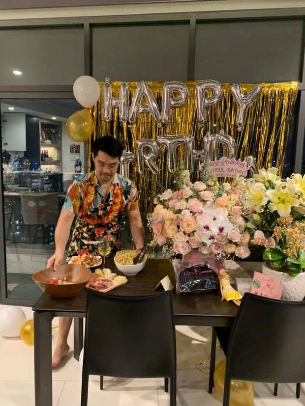Kathy Uyên khoe được bạn trai triệu đô yêu chiều hết lòng: Tự tay vào bếp, tổ chức sinh nhật cực lãng mạn tại nhà - Ảnh 3.