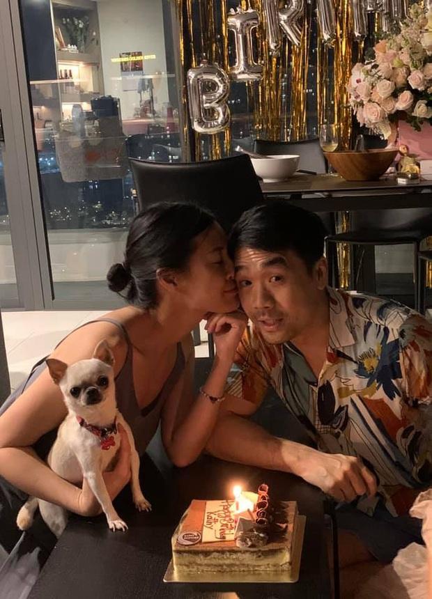 Kathy Uyên khoe được bạn trai triệu đô yêu chiều hết lòng: Tự tay vào bếp, tổ chức sinh nhật cực lãng mạn tại nhà - Ảnh 4.
