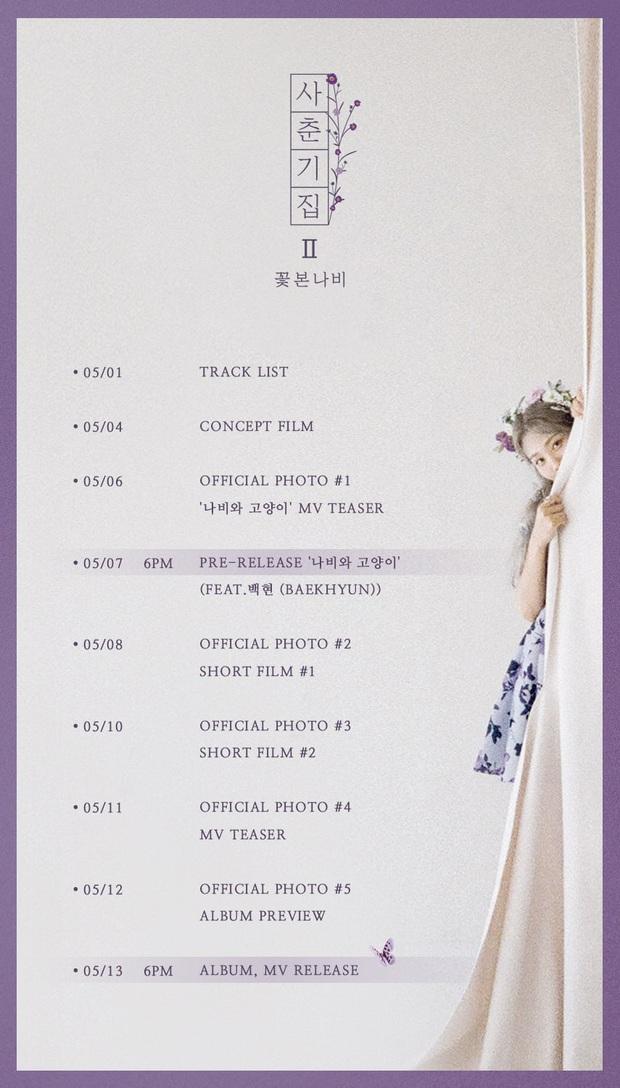 Quái vật nhạc số BOL4 kết hợp cùng Baekhyun (EXO), chiến trực diện với IU và Suga (BTS): Kpop đầu tháng 5 căng đét khét lẹt! - Ảnh 2.