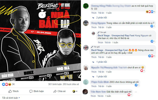 BeckStage trở lại với sân chơi My Home My Stage, rap Việt chung tay lập kỳ tích hướng đến tuyến đầu chống dịch - Ảnh 1.