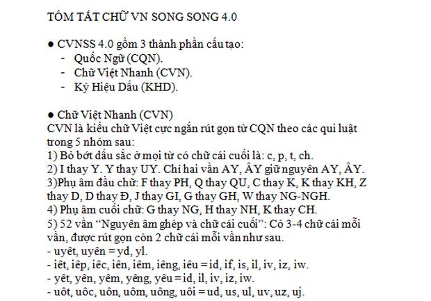 """Bị phản đối kịch liệt, tác giả """"Chữ Việt Nam song song 4.0"""" lên tiếng: Chỉ mất 3 buổi học là thành thạo kiểu chữ mới này - Ảnh 5."""