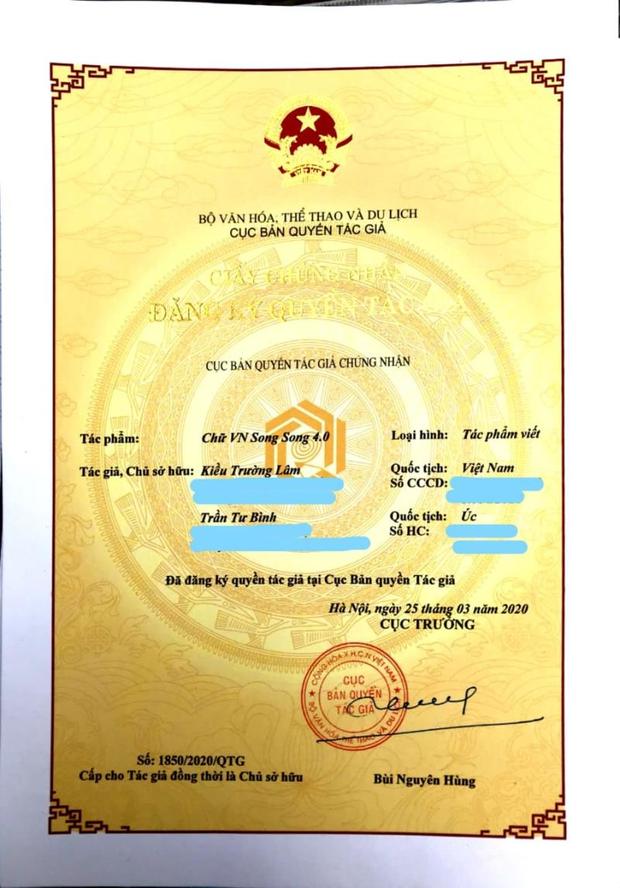Bị dư luận phản đối gay gắt, cha đẻ bộ 'Chữ Việt Nam song song 4.0' nói gì? - Ảnh 2.