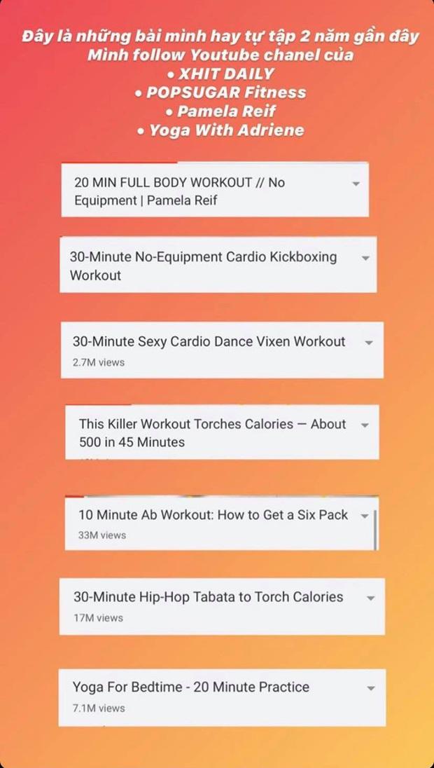 Salim chia sẻ list bài tự tập luyện ở nhà cực hữu ích, muốn giữ eo thon, dáng chuẩn sau 2 tuần thì bạn nên học theo - Ảnh 3.