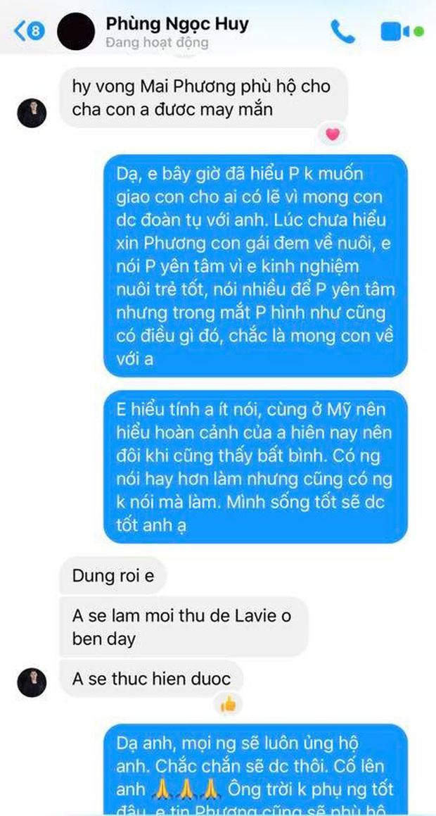 Tiết lộ tin nhắn Phùng Ngọc Huy lên tiếng về việc nuôi dưỡng bé Lavie - Ảnh 2.