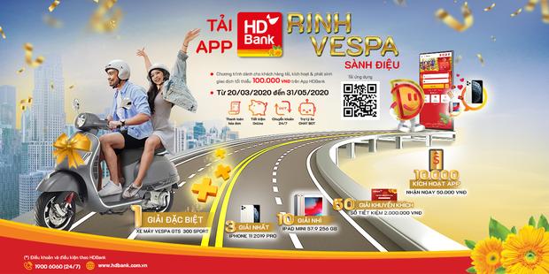 Ai ở đâu, ở yên đấy, hãy để App HDBank mang cả thế giới đến cho bạn - Ảnh 1.