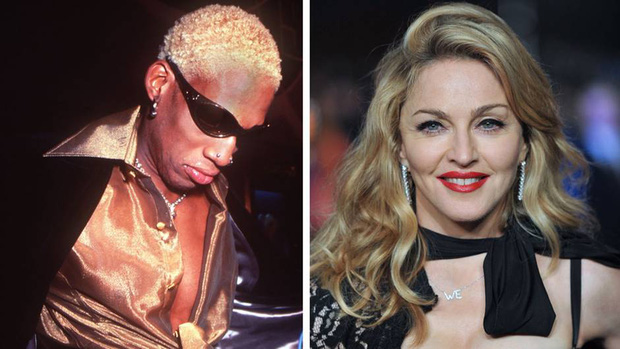 Dennis Rodman,trai hư độc nhất tại NBA và sự thật ẩn sau câu chuyện được Madonna trả 20 triệu USD để xin một đứa con - Ảnh 4.