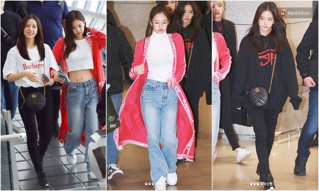 Thời trang sân bay của sao Hoa Hàn cũng lắm drama: Từ thuê người chụp, photoshop chán chê cho tới thay n bộ làm màu - Ảnh 4.