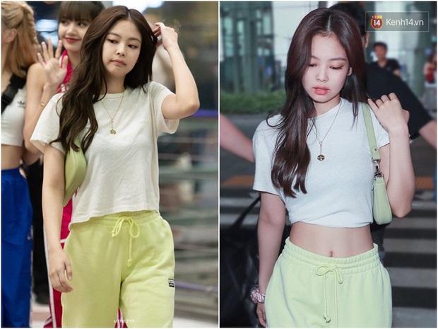 Thời trang sân bay của sao Hoa Hàn cũng lắm drama: Từ thuê người chụp, photoshop chán chê cho tới thay n bộ làm màu - Ảnh 5.