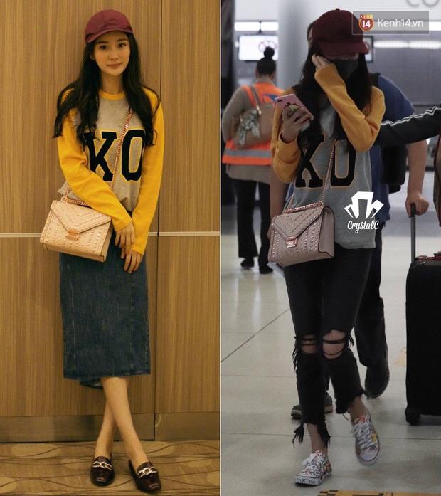 Thời trang sân bay của sao Hoa Hàn cũng lắm drama: Từ thuê người chụp, photoshop chán chê cho tới thay n bộ làm màu - Ảnh 7.