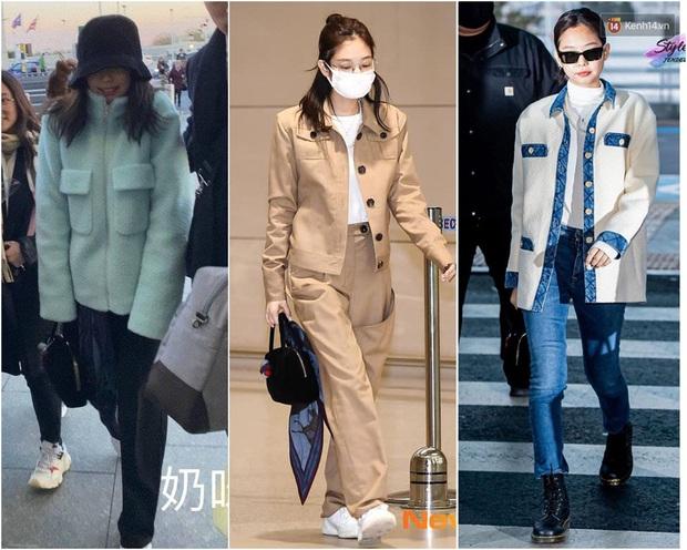 Thời trang sân bay của sao Hoa Hàn cũng lắm drama: Từ thuê người chụp, photoshop chán chê cho tới thay n bộ làm màu - Ảnh 6.