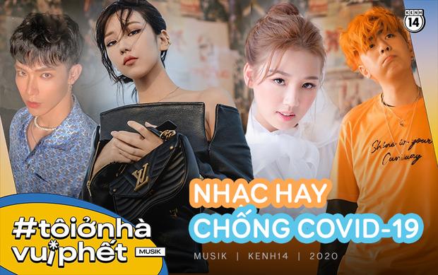 Sau Ghen Cô Vy, có rất nhiều các ca khúc viết về COVID-19: Từ AMEE, Da LAB, Osad và loạt sao Vpop đều tích cực tuyên truyền chống dịch bằng âm nhạc - Ảnh 1.