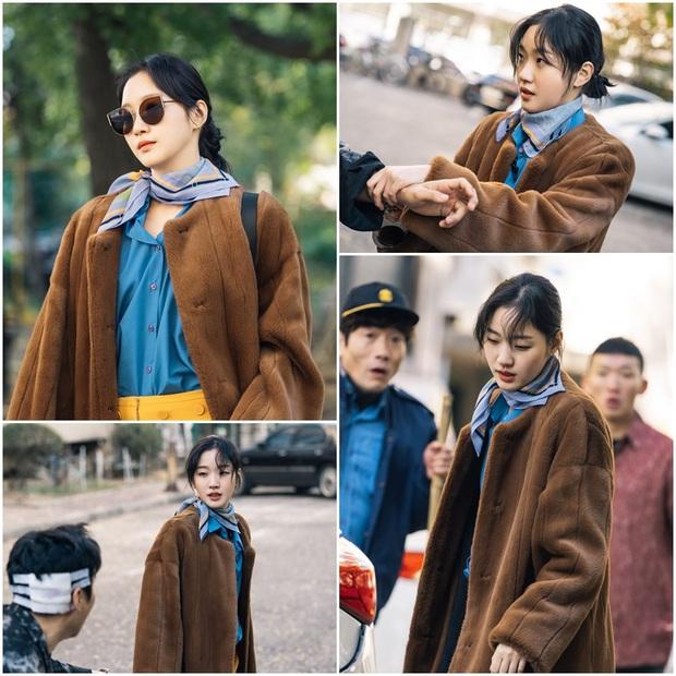 Người yêu Lee Min Ho tung ảnh cực sến ở Bệ Hạ Bất Tử: Cô cảnh sát sành điệu Kim Go Eun  hoá bánh bèo bên hoa huệ? - Ảnh 2.