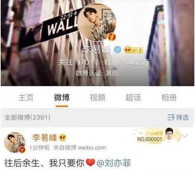 Rộ tin Lưu Diệc Phi - Lý Dịch Phong hẹn hò với bằng chứng rần rần trên mạng xã hội - Ảnh 3.