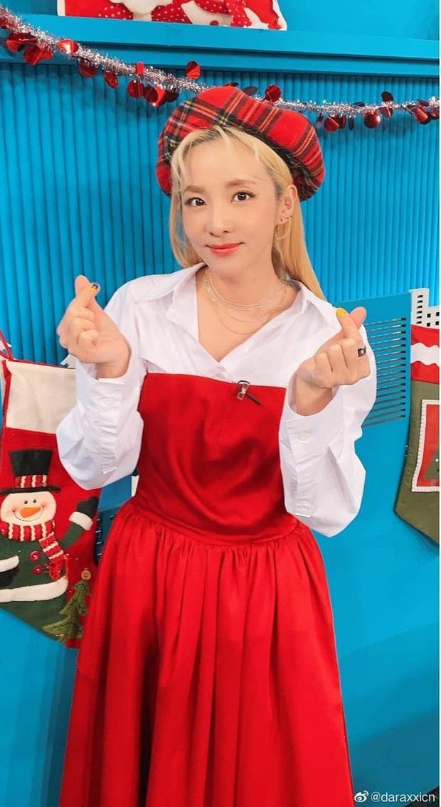 Irene xinh như công chúa khi đụng váy với Jessica, chỉ tội Dara mất công biến tấu lại đâm rối mắt - Ảnh 5.
