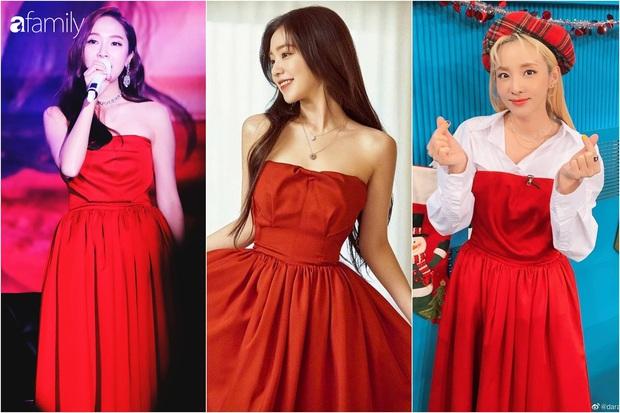Irene xinh như công chúa khi đụng váy với Jessica, chỉ tội Dara mất công biến tấu lại đâm rối mắt - Ảnh 6.