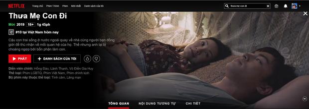 Cập bến Netflix 3 ngày, Thưa Mẹ Con Đi đá bay bom tấn ngoại để lọt top phim được xem nhiều nhất  - Ảnh 1.