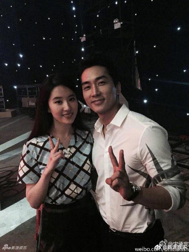 Không chỉ Song Hye Kyo, Song Seung Hun cũng lộ nghi vấn quay lại với Lưu Diệc Phi: Ngày gì vậy trời! - Ảnh 8.