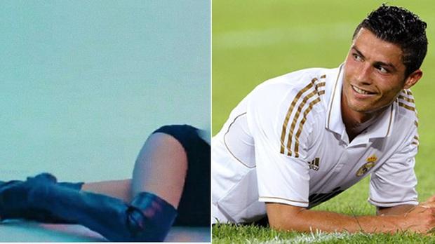 Sửng sốt trước hình hài mới của sao bóng đá khi lắp thêm đôi chân Lisa trong màn nhảy sexy: Messi gợi cảm đến lạ, Ronaldo xứng đáng là cực phẩm - Ảnh 7.