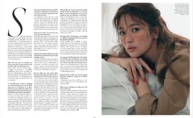 Xôn xao bài phỏng vấn mới của Song Hye Kyo giữa bão tin đồn: Tránh nhắc đến Hậu duệ mặt trời, 1 câu nói đáng suy ngẫm? - Ảnh 3.