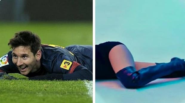 Sửng sốt trước hình hài mới của sao bóng đá khi lắp thêm đôi chân Lisa trong màn nhảy sexy: Messi gợi cảm đến lạ, Ronaldo xứng đáng là cực phẩm - Ảnh 9.