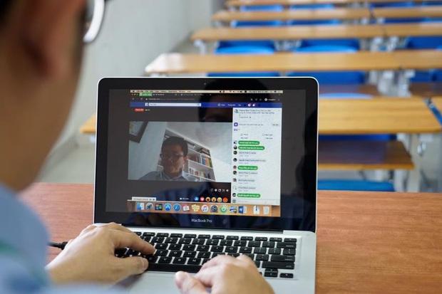 Tổ chức họp phụ huynh trực tuyến trước khi đón học sinh trở lại trường - Ảnh 1.