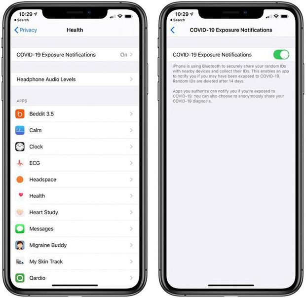 iOS 13.5 có gì mới: Phát hiện phơi nhiễm COVID-19, mở khoá iPhone dễ hơn khi đeo khẩu trang - Ảnh 1.