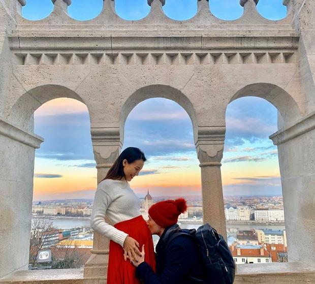 Đọ nhan sắc đẹp mê của hội mẹ bầu Vbiz: Đặng Thu Thảo đúng là thần tiên tỷ tỷ, Đông Nhi và bà xã Khắc Việt body quá đỉnh - Ảnh 15.