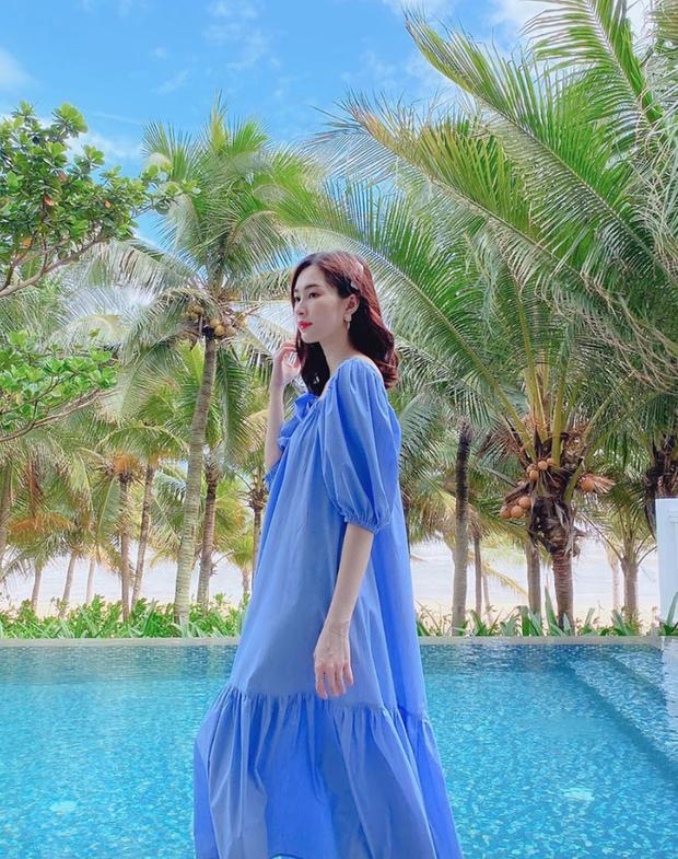 Đọ nhan sắc đẹp mê của hội mẹ bầu Vbiz: Đặng Thu Thảo đúng là thần tiên tỷ tỷ, Đông Nhi và bà xã Khắc Việt body quá đỉnh - Ảnh 13.