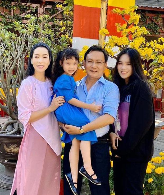 Chồng và con gái đồng lòng bảo vệ nghệ sĩ Trịnh Kim Chi khi bị Trà My mỉa mai hết thời đu bám showbiz - Ảnh 5.