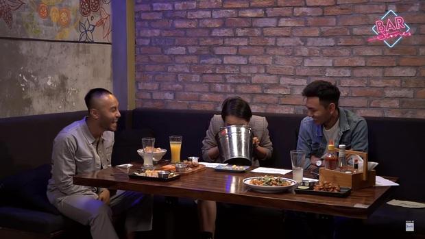 Xóa tan nghi án ái ngại vì lùm xùm của hội bạn thân, Giang Ơi và Khoai Lang Thang tương tác cực đáng yêu trên talkshow - Ảnh 2.