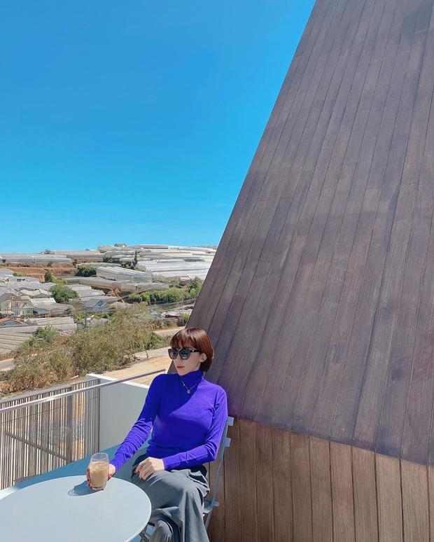 Sao Việt đua nhau chụp ảnh trên sân thượng, sống ảo tại gia mà cũng xịn sò ra trò - Ảnh 3.