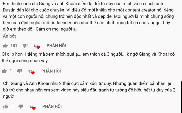 Xóa tan nghi án ái ngại vì lùm xùm của hội bạn thân, Giang Ơi và Khoai Lang Thang tương tác cực đáng yêu trên talkshow - Ảnh 6.