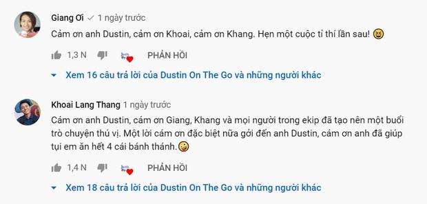 Xóa tan nghi án ái ngại vì lùm xùm của hội bạn thân, Giang Ơi và Khoai Lang Thang tương tác cực đáng yêu trên talkshow - Ảnh 7.