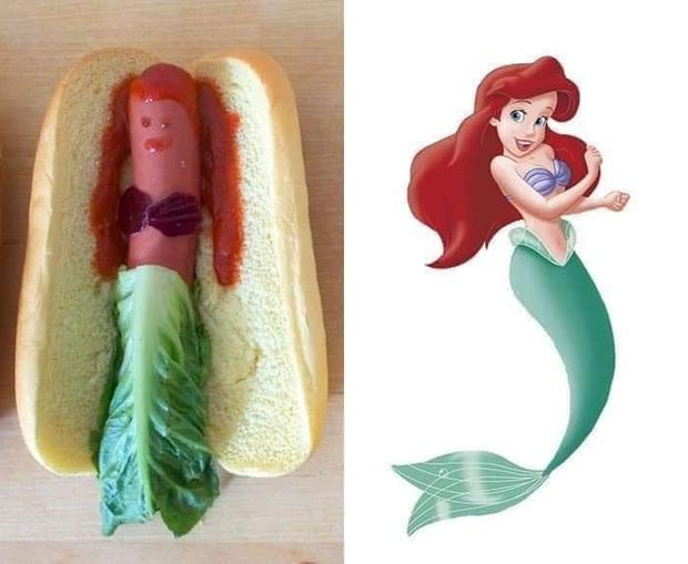 Đu trend nấu ăn khoe ảnh nhưng bộ siêu phẩm của người bạn này khiến người xem cười ngã ngửa còn các nàng công chúa Disney chắc cũng khóc thét - Ảnh 1.