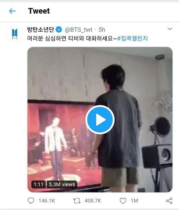 Bấn đến mức khoe video nhảy cho fan, nam thần V (BTS) lên top trend vì... đôi chân con gái cũng phải ghen tỵ - Ảnh 6.