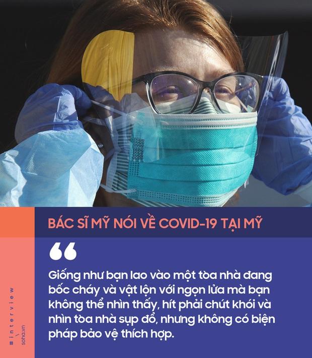 Bác sĩ Mỹ nói về sự khốc liệt của Covid-19: Có nơi phải dùng hình thức rút thăm để chọn bệnh nhân dùng máy thở - Ảnh 2.