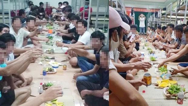 30 người tổ chức ăn nhậu trong khu... cách ly ở Quảng Bình - Ảnh 1.