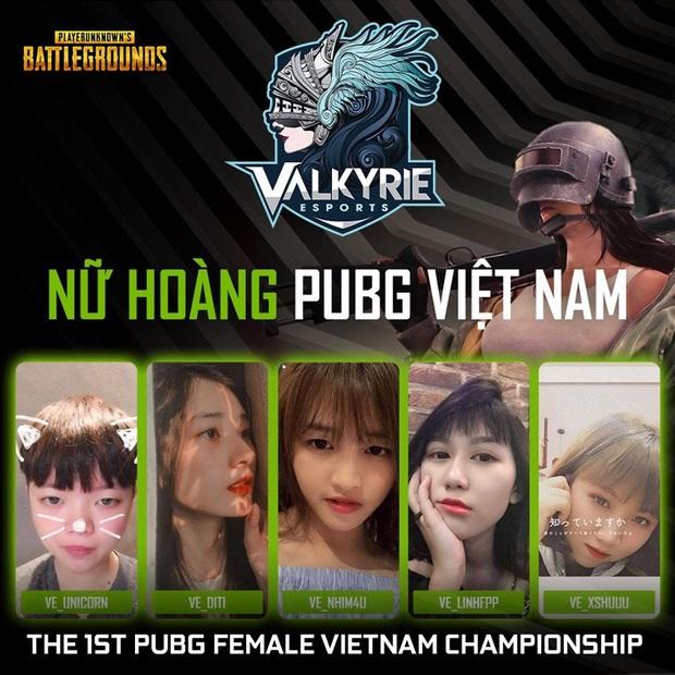 Valkyrie Esports chiến thắng áp đảo tại The 1st PUBG Female Vietnam Championship, xứng đáng lên ngôi nữ hoàng PUBG Việt Nam - Ảnh 1.
