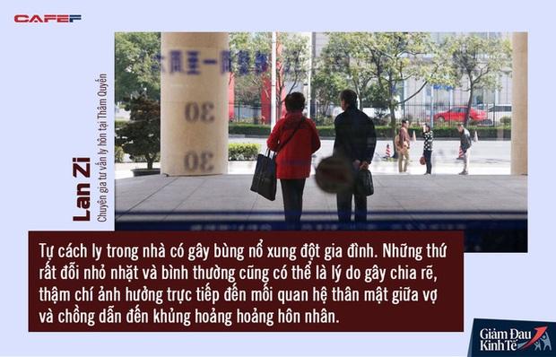 Lệnh phong tỏa gỡ cũng là lúc phụ nữ Trung Quốc đệ đơn ly hôn hàng loạt: Gia đình rạn nứt từ những mâu thuẫn nhỏ nhặt vô tình lộ ra trong đại dịch Covid-19 - Ảnh 2.