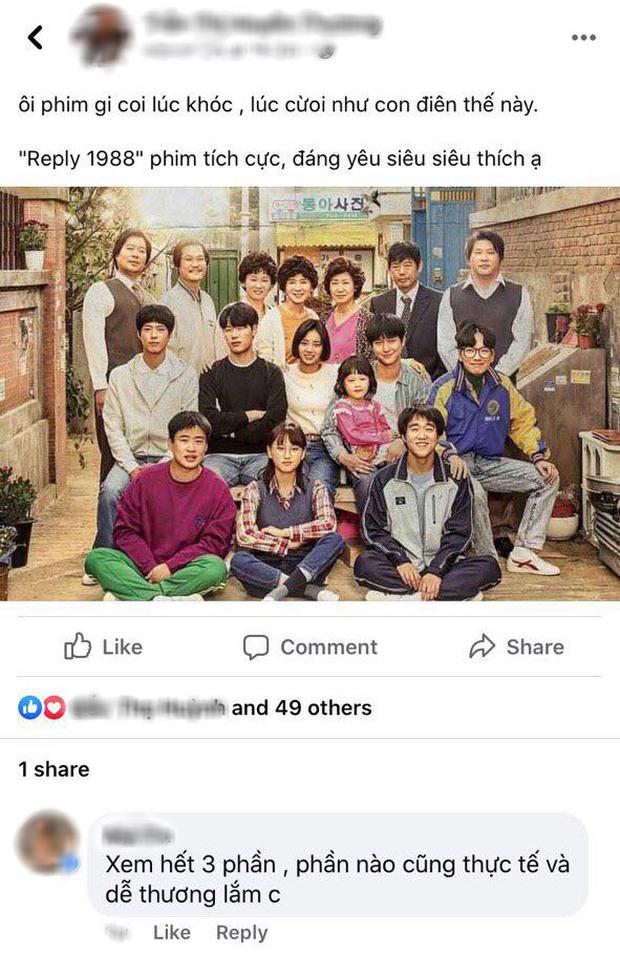 Netizen Việt bồi hồi nhớ nhung Reply 1988 sau 4 năm gây bão Hàn Quốc, leo thẳng top 3 Netflix giữa mùa ở nhà cày phim - Ảnh 8.